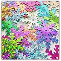 Buy snowflake table top confetti sequin sprinkles on amazon.co.uk
