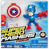 Marvel super hero micro mashers - mini plastic role play figures on amazon.co.uk