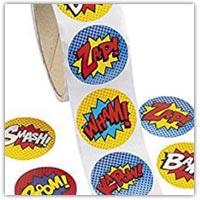 Buy superhero stickers to laminate on amazon.co.uk