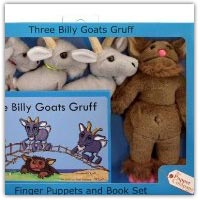 Buy The Three Billy Goats Gruff finger puppets and storybook set on amazon.co.uk