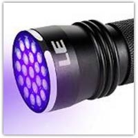 Blacklight UV detection torch on Amazon.co.uk