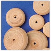 Buy wooden wheels and struts on amazon.co.uk