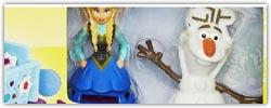 Disney Frozen play doh activity sets
