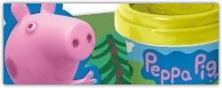 Pappa and George pig playdough activity sets