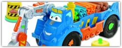 Play doh Diggin Rigs trucks and contruction work vehicle sets