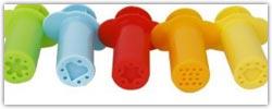 Playdough tool extruders
